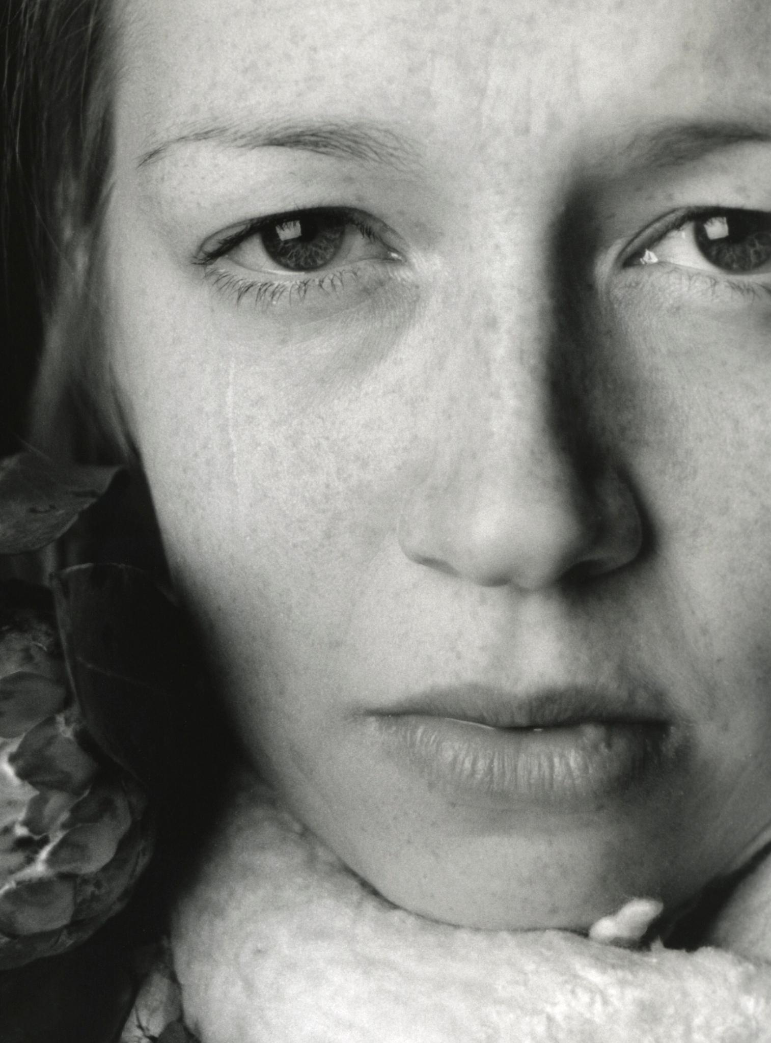 Gråtande kvinna